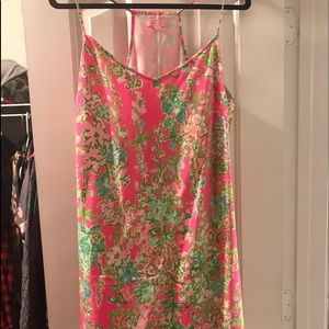 Silk Mini Dress Size XL